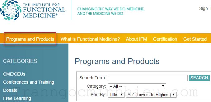 Tài liệu video của Functional Medicine (Tiếng Anh)
